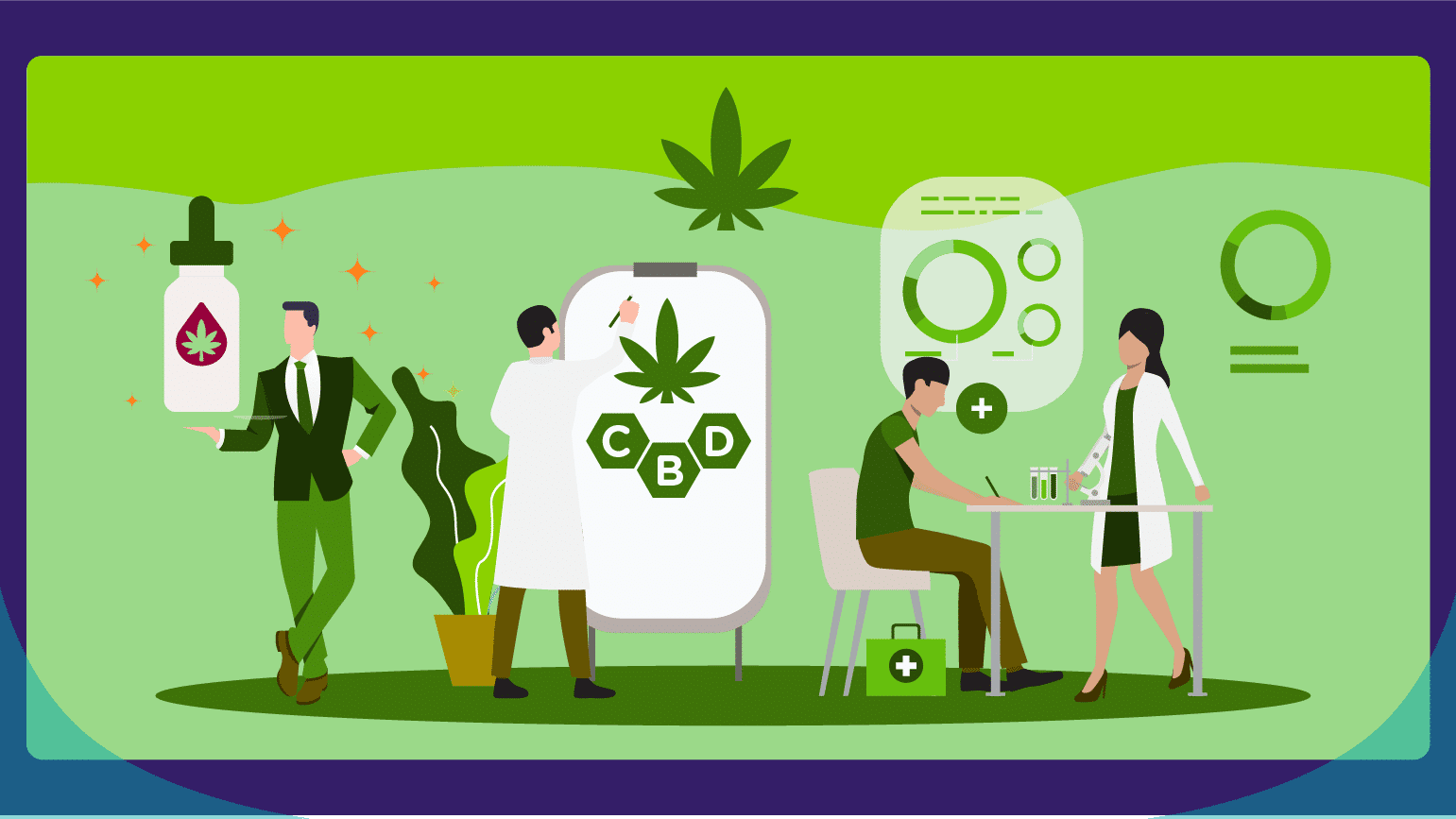 A Budding Industry CBD Statistics & Trends - Featured Image