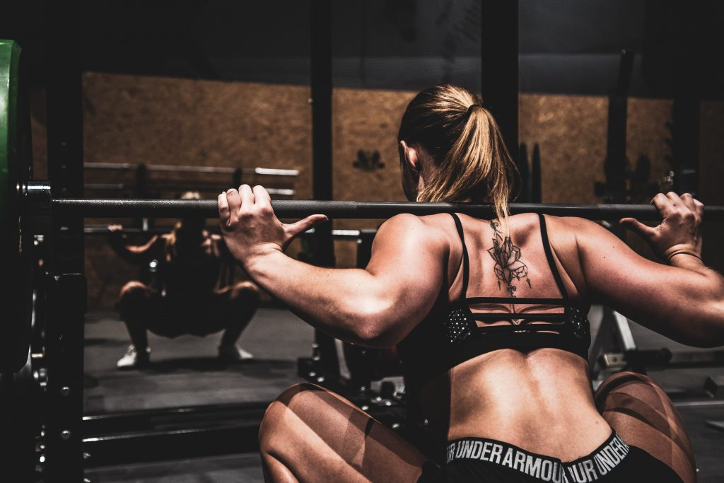 Working Out High - Lifting