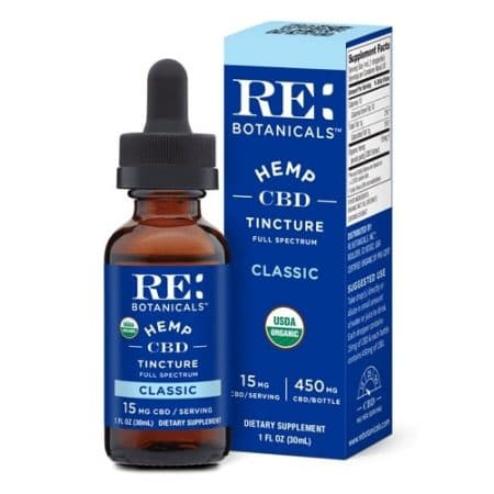 Best CBD Oil - RE: Botanicals