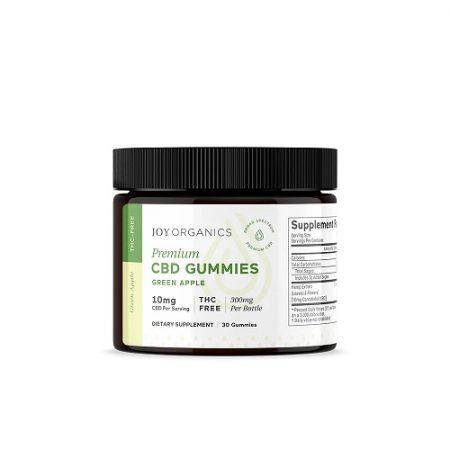 Best CBD Gummies - Joy Organics CBD Gummies