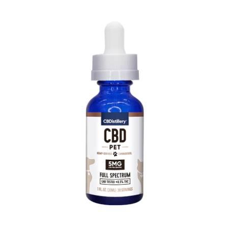 Best CBD Oil for Dogs - CBDistillery Review