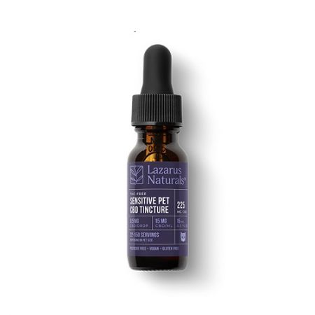 Best CBD Oil for Dogs - Lazarus Naturals