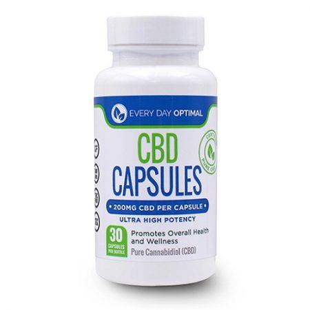 Best CBD Capsules - Every Day Optimal