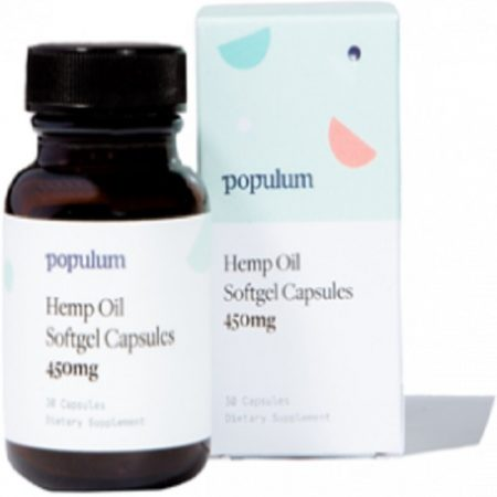 Best CBD Capsules - Populum