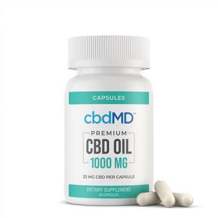 Best CBD Capsules - cbdMD