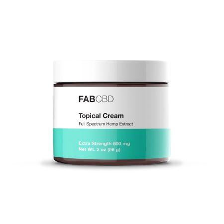 Best CBD Cream - FAB CBD