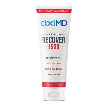Best CBD Cream - cbdMD