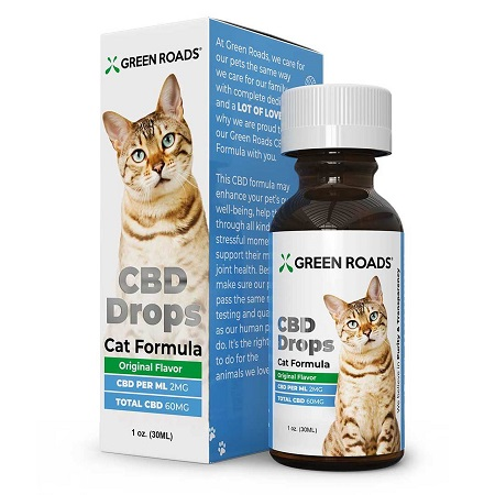 Best CBD Oil for Cats - Green Roads