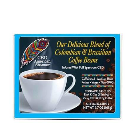 Best CBD Coffee - American Shaman Review