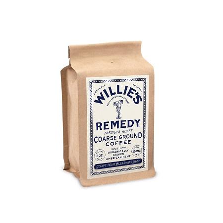 Best CBD Coffee - Willie's Remedy