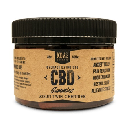 Best CBD Edibles - Kore Organic