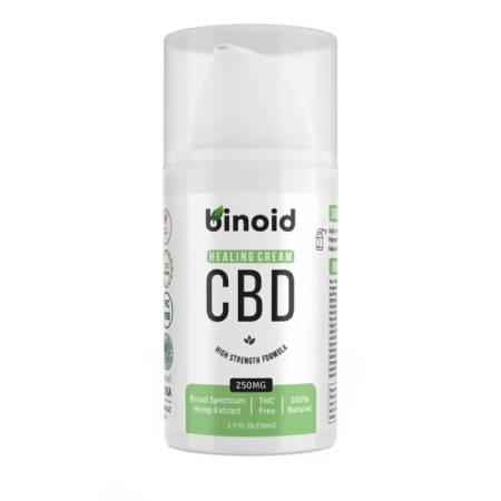 Best CBD Cream - Binoid Review