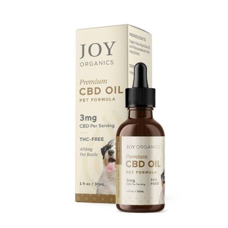 Best CBD Oil for Dogs - Joy Organics Review
