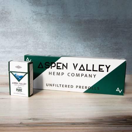 Best CBD Pre Rolls - Aspen Valley Hemp Company Review