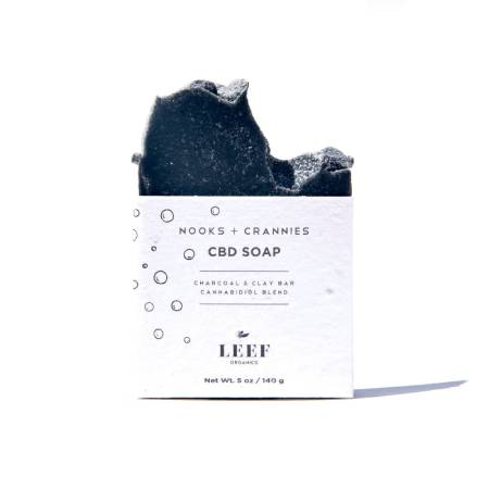Best CBD Soap - LEEF Organics Review