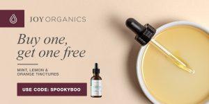 Joy Organics Brings Incredible October 2020 Discounts