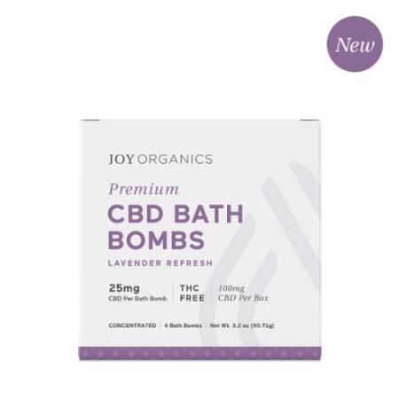 Best CBD Bath Bombs - Joy Organics Review