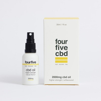 Best CBD Oil for Anxiety (UK) - fourfivecbd Review