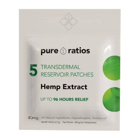 Best CBD Patches -Pure Ratios