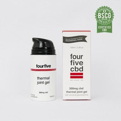 CBD Oil for Pain UK - fourfivecbd CBD Joint Gel Review