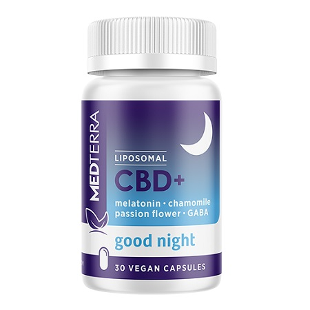 Bestes CBD bei Schlafstörungen - Medterra im Test