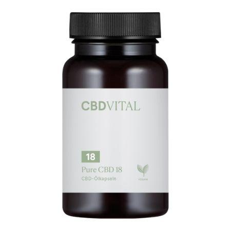 Die besten CBD Kapseln - CBD Vital Pure CBD Kapseln im Test