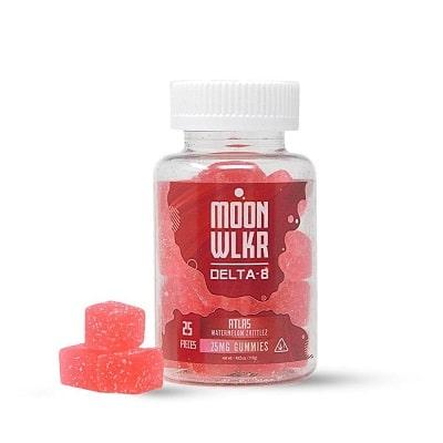 Best Delta 8 Gummies - MoonWlkr Review