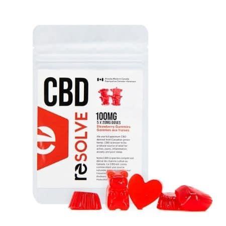 CBD Gummies Canada - Resolve CBD Review